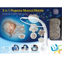 B-Kids 3 in 1 projector Musical Mobile