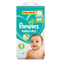 Pampers Pampers Baby-Dry Midi (3) 6-10kg