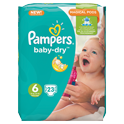 Pampers Baby Dry XL (6) 15+ kg