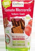 Dr. Karg's Tomato & Mozzarella snack, Bio