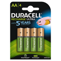 Duracell Rechargeable Precharged Ultra AA incl. stibat