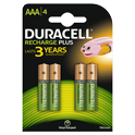 Duracell Rechargeable Plus AAA incl. stibat