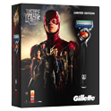 Gillette Giftset Fusion Flexball Justice League