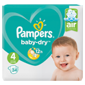Pampers Baby-Dry (4) 9-14 kg