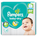 Pampers Baby-Dry (4+) 10-15 kg