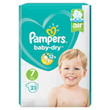 Pampers Pampers Baby-Dry (7) 15+ kg