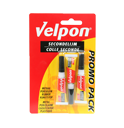 Velpon secondelijm 3x3gr