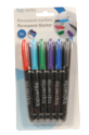 Top Write Marker Permanent (6 stuks)