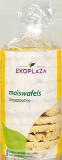 Ekoplaza Maiswafels, Bio
