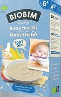 Biobim Baby muesli 6+ mnd, Bio