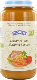 Biobim Macaroni-ham, Bio