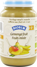 Biobim Gemengd fruit 6 mnd, Bio