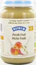 Biobim Perzik-fruit 6 mnd, Bio