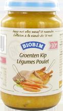 Biobim Groenten-kip 10 mnd, Bio