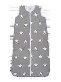 Jersey Slaapzak zomer grijs ster, 90cm