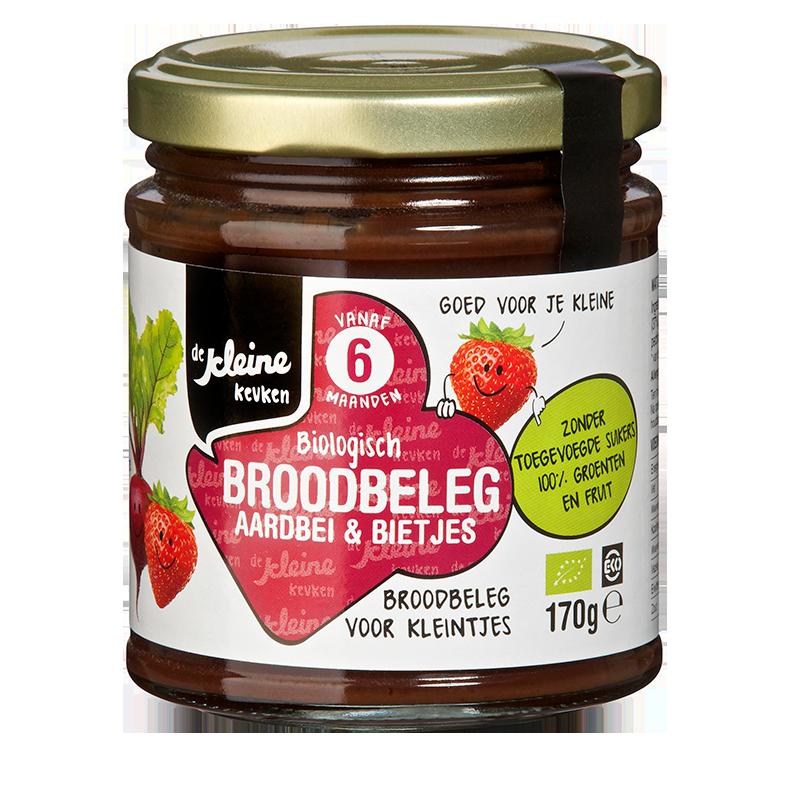 De Kleine Keuken BroodSpread Biet/Aardbei 6+
