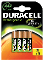 Duracell Rechargeable Precharged Ultra AAA incl. stibat