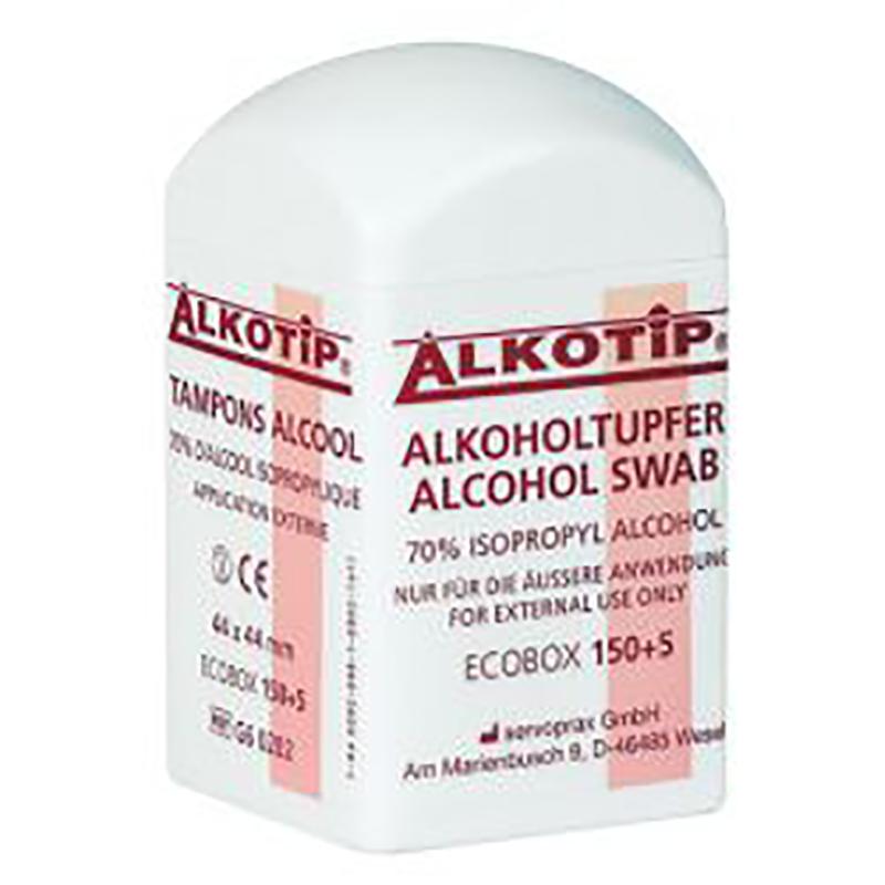 Alkotip Alcoholdoekjes Dispenser