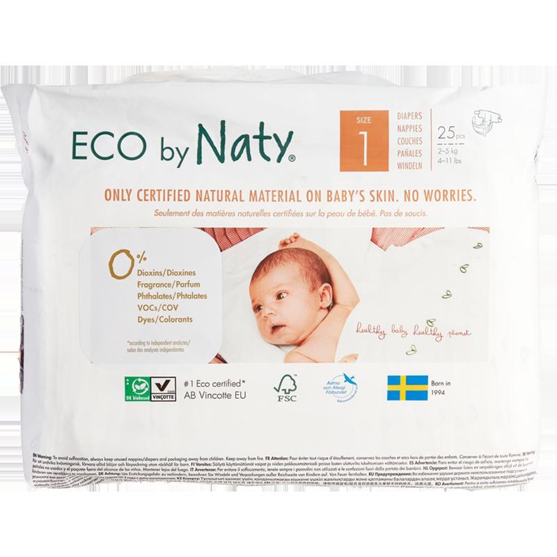 Ecologische luiers 1 Newborn