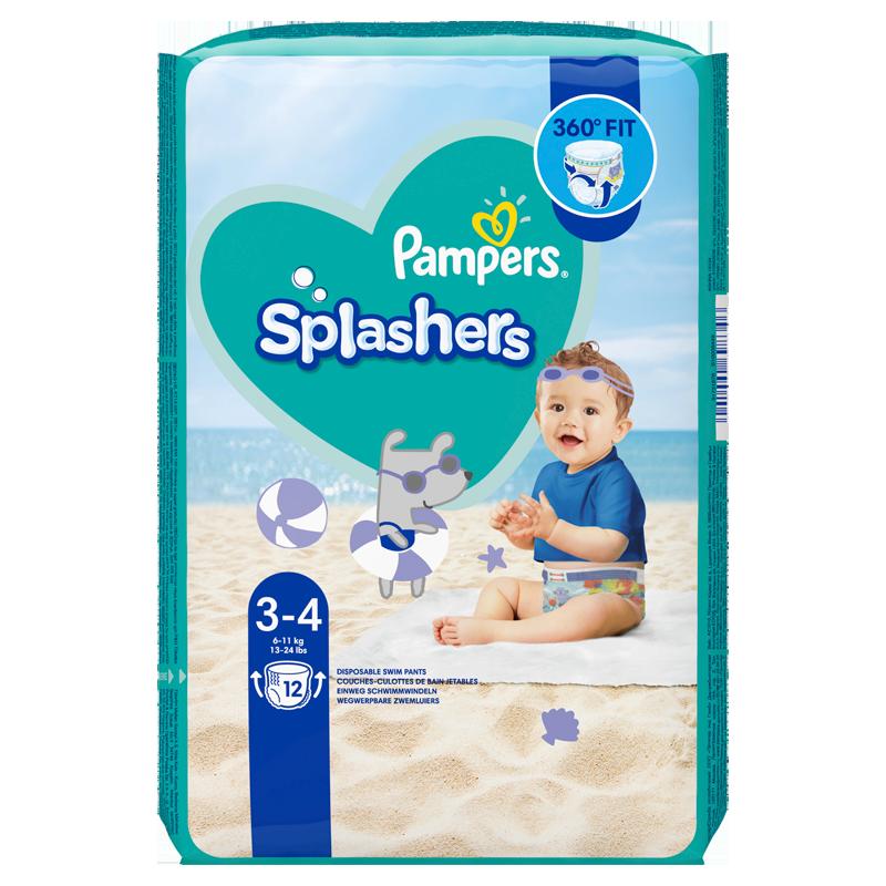 Splashers Zwemluiers Maat 3-4 6-11 kg