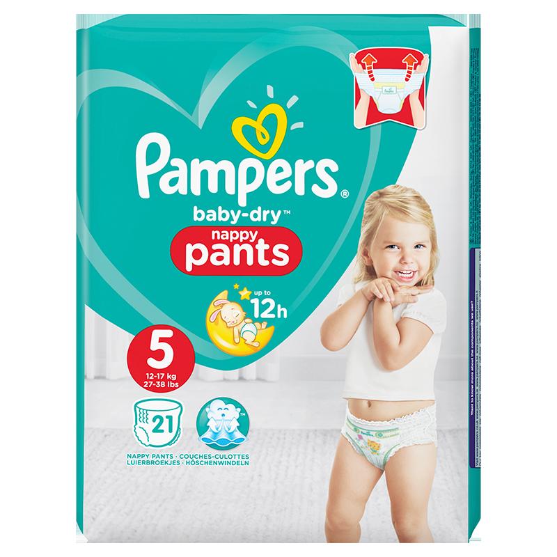 Baby-Dry Pants Junior (5) 12-17 kg