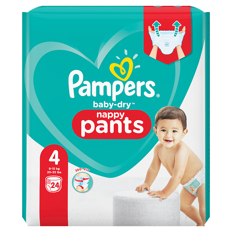 Pampers Baby-Dry Pants Maxi (4) 9-15kg