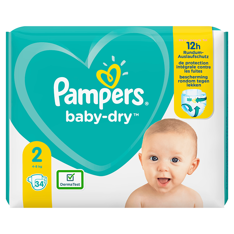 Baby-Dry (2) 4-8 kg