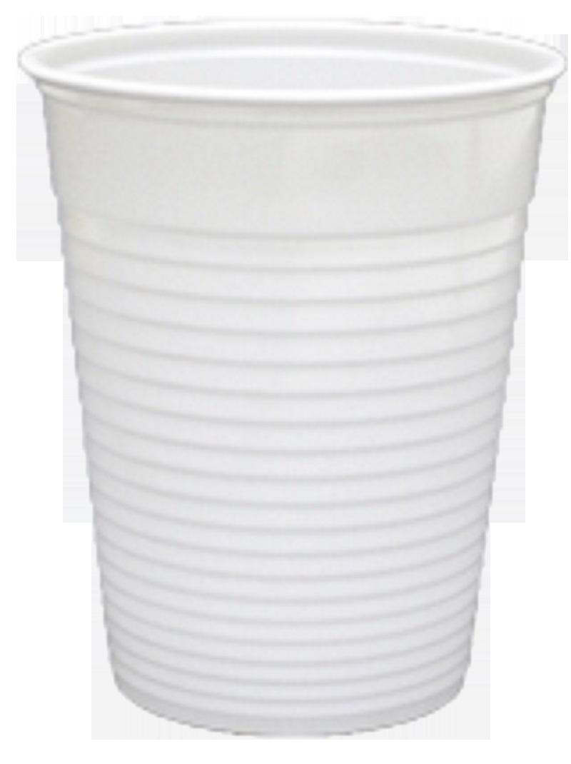Drinkbeker 180cc wit 100st