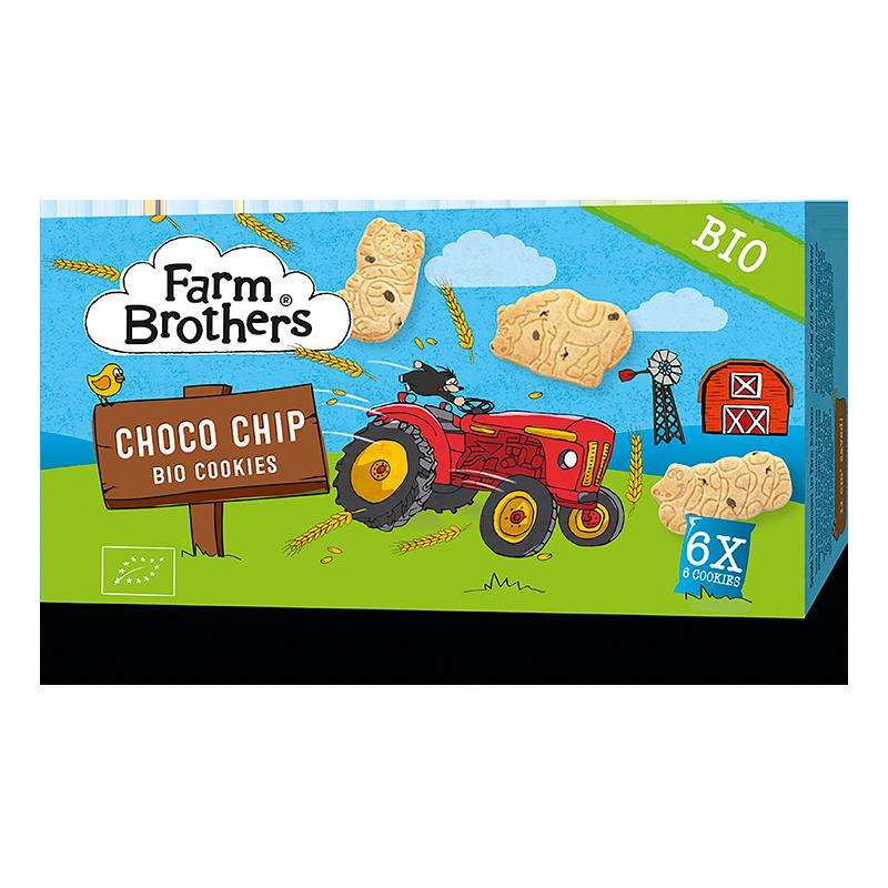 Farm Brothers Kids Cookies Chocolate Chip, Bio